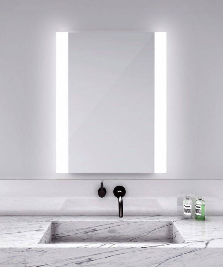 Best 25+ Modern Bathroom Mirrors Ideas On Pinterest | Asian Throughout Light Wall Mirrors (#5 of 15)