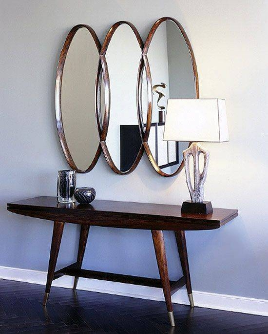 Contemporary Foyer Mirrors : Collection of modern hall mirrors