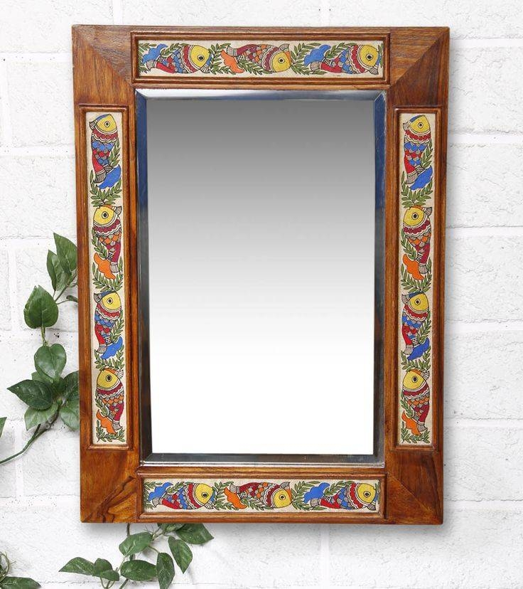 Best 25+ Multicoloured Framed Mirrors Ideas On Pinterest In Hand Painted Wall Mirrors (#3 of 15)