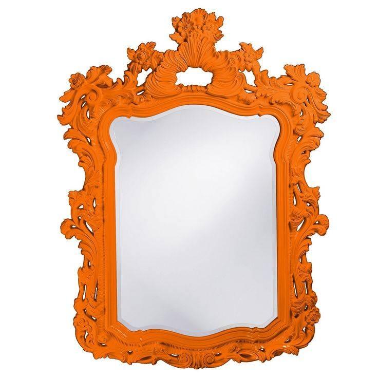Best 25+ Orange Mirrors Ideas On Pinterest   Contemporary Orange Inside Orange Wall Mirrors (#1 of 15)