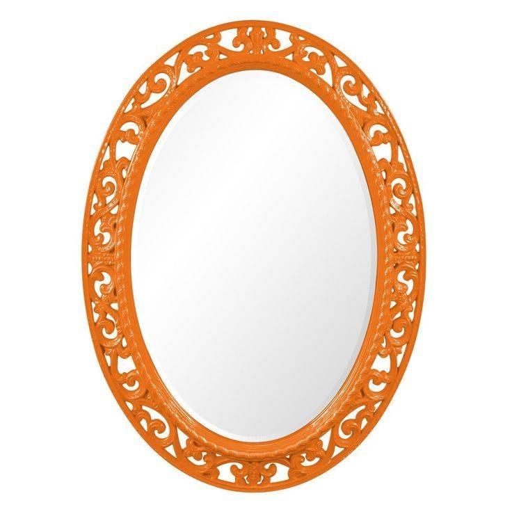 Best 25+ Orange Mirrors Ideas On Pinterest   Contemporary Orange Intended For Orange Wall Mirrors (#2 of 15)