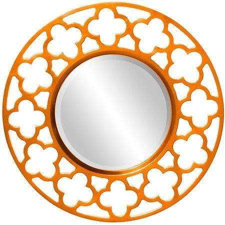 Best 25+ Orange Wall Mirrors Ideas On Pinterest   Orange Walls In Orange Wall Mirrors (#4 of 15)