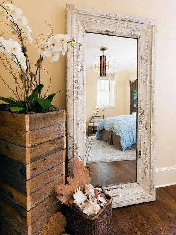 Best 25+ Pallet Mirror Frame Ideas On Pinterest | Pallet Mirror In Decorative Wooden Mirrors (#5 of 15)