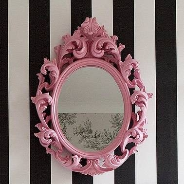 Best 25+ Pink Mirror Ideas On Pinterest | Pink Framed Mirrors With Girls Pink Wall Mirrors (#4 of 15)