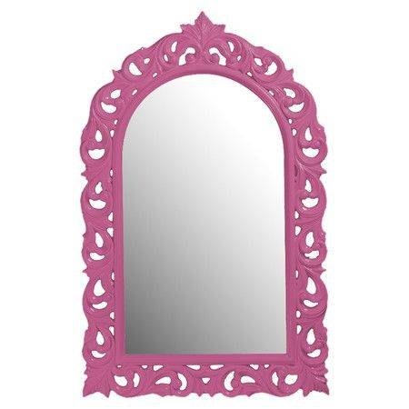 Best 25+ Pink Wall Mirrors Ideas On Pinterest | Pink Wall Shelf Intended For Girls Pink Wall Mirrors (#8 of 15)