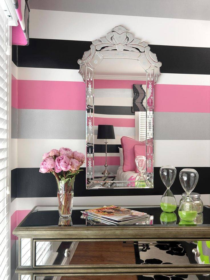 Best 25+ Pink Wall Mirrors Ideas On Pinterest | Pink Wall Shelf Intended For Girls Pink Wall Mirrors (#7 of 15)