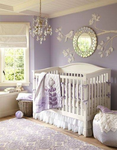 Best 25+ Purple Baby Rooms Ideas On Pinterest | Girl Nursery For Baby Wall Mirrors (#10 of 15)