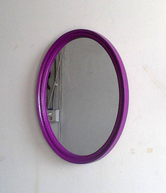 Best 25+ Purple Wall Mirrors Ideas On Pinterest | Purple Mirror Intended For Purple Wall Mirrors (#2 of 15)
