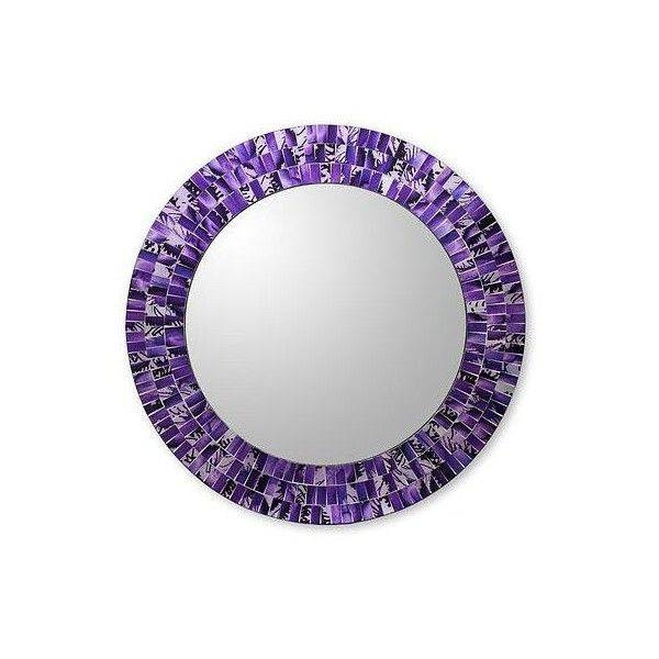 Best 25+ Purple Wall Mirrors Ideas On Pinterest | Purple Mirror Within Purple Wall Mirrors (#4 of 15)