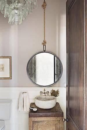 Best 25+ Rope Mirror Ideas On Pinterest | Nautical Bathroom Regarding Hanging Wall Mirrors For Bathroom (View 4 of 15)