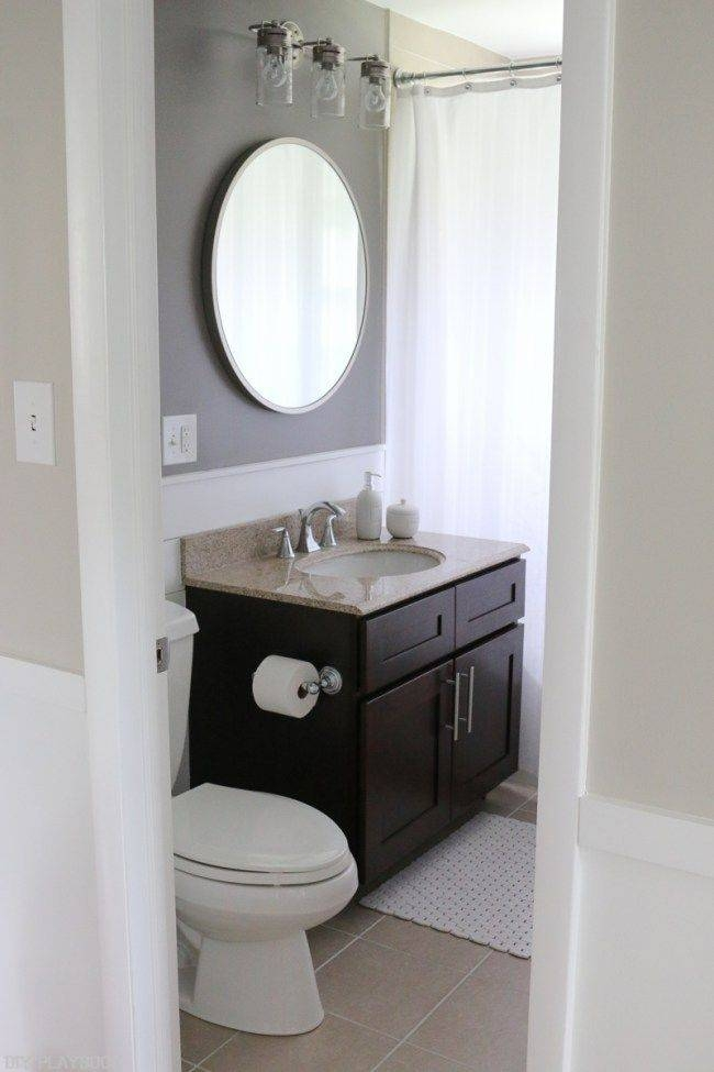 Best 25 Bathroom Paneling Ideas On Pinterest: 15 Best Of Round Mirrors For Bathroom