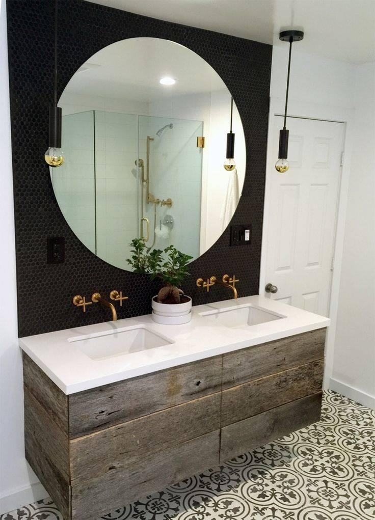 Best 25+ Round Bathroom Mirror Ideas On Pinterest   Bathroom Throughout Round Mirrors For Bathroom (View 14 of 15)