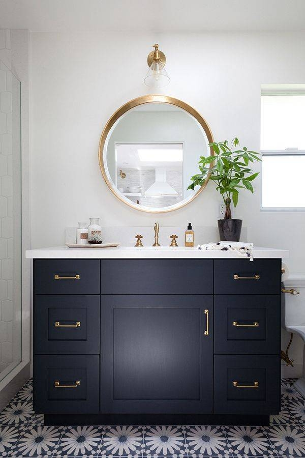 Best 25+ Round Bathroom Mirror Ideas On Pinterest | Bathroom With Round Mirrors  For Bathroom