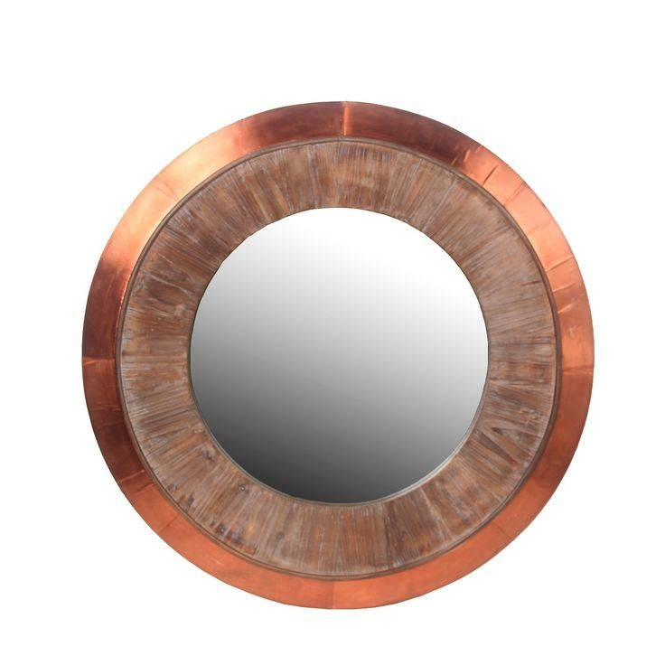 Best 25+ Round Wall Mirror Ideas On Pinterest | Large Round Wall With Copper Wall Mirrors (View 14 of 15)