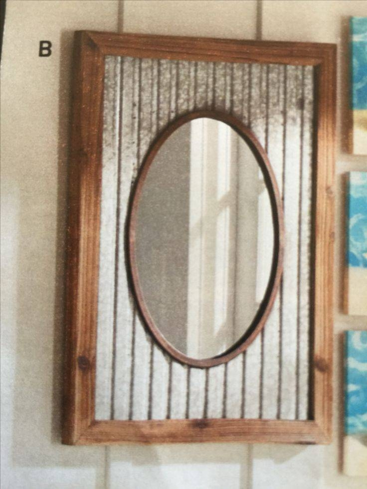 Best 25+ Rustic Mirrors Ideas On Pinterest | Country Full Length Intended For Rustic Wall Mirrors (#4 of 15)