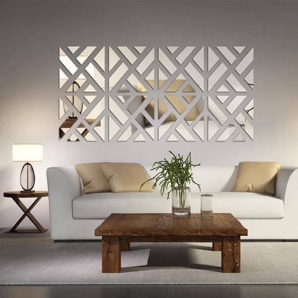 Best 25+ Silver Wall Decor Ideas On Pinterest | Decor Home Living Within Modern Decorative Wall Mirrors (#4 of 15)