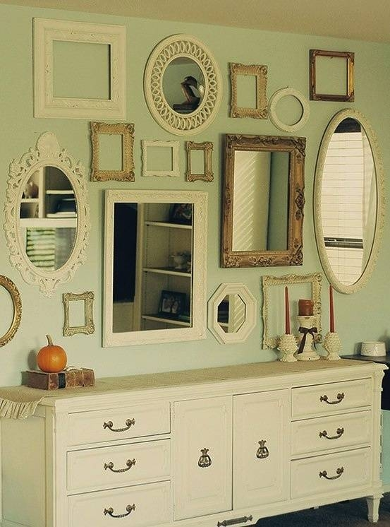 Best 25+ Small Framed Mirrors Ideas On Pinterest | Interior Framed For Frames For Wall Mirrors (View 7 of 15)