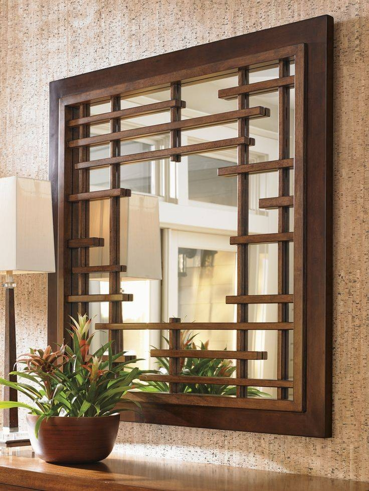 Best 25+ Square Mirrors Ideas On Pinterest | Wall Mirrors Pertaining To Asian Style Wall Mirrors (#4 of 15)