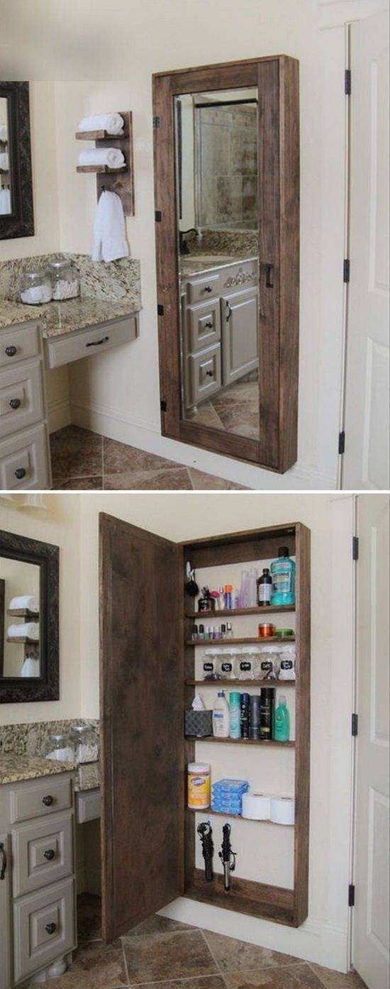 Best 25+ Storage Mirror Ideas On Pinterest | Dressing Mirror In Wall Mirrors With Storages (#6 of 15)