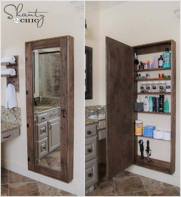 Popular Photo of Wall Mirrors With Storages