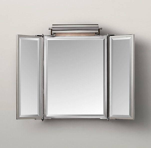 Best 25+ Tri Fold Mirror Ideas On Pinterest | Dressing Mirror In Folding Wall Mirrors (#4 of 15)