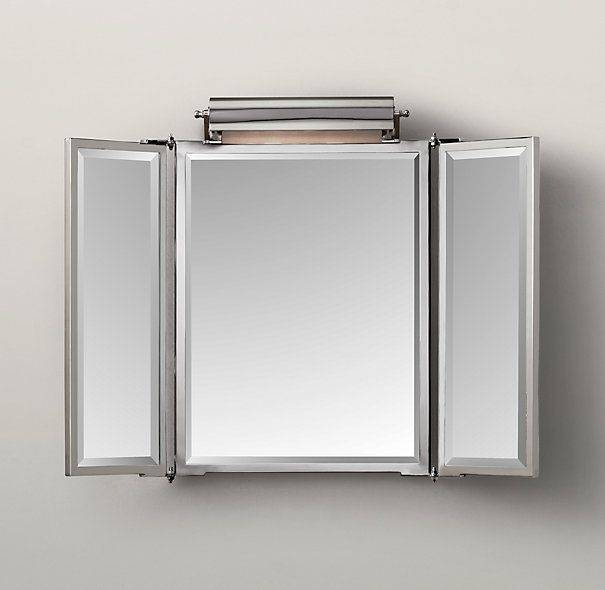 Best 25+ Tri Fold Mirror Ideas On Pinterest | Dressing Mirror With Tri Fold Wall Mirrors (#3 of 15)