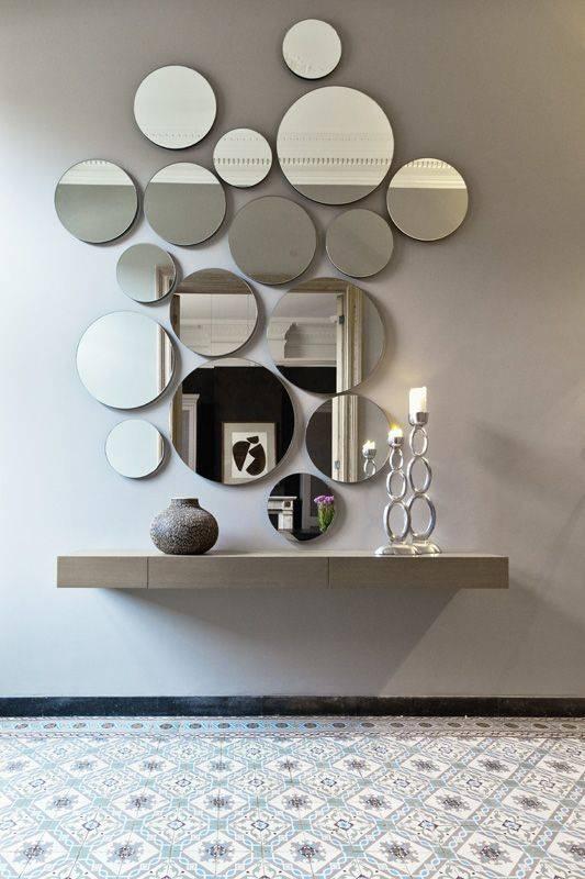 Best 25+ Wall Mirror Ideas Ideas On Pinterest | Big Wall Mirrors With Regard To Wall Mirrors Designs (View 2 of 15)
