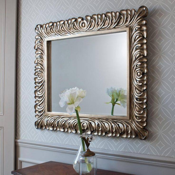 Popular Photo of Decorative Framed Wall Mirrors