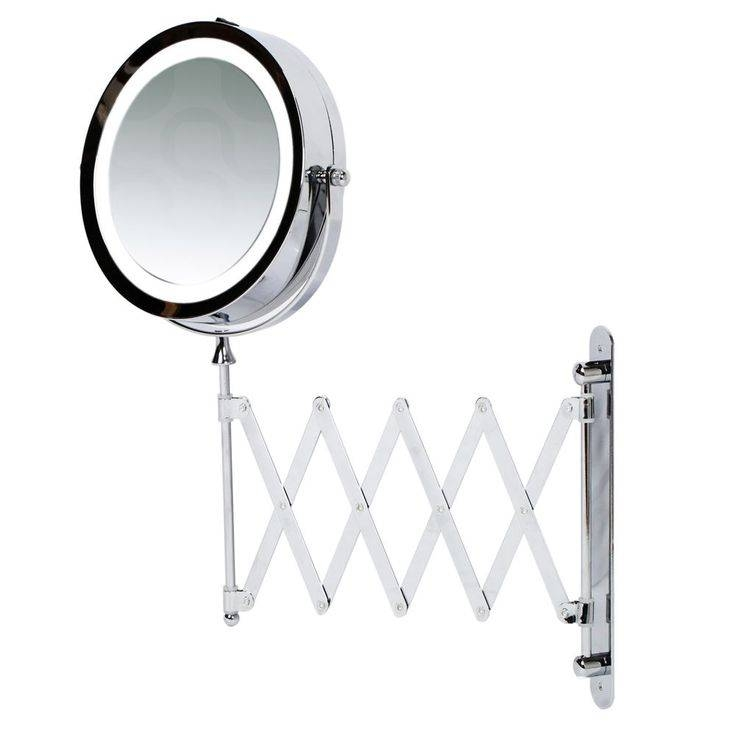 Best 25+ Wall Mounted Magnifying Mirror Ideas On Pinterest Throughout Extending Wall Mirrors (#5 of 15)