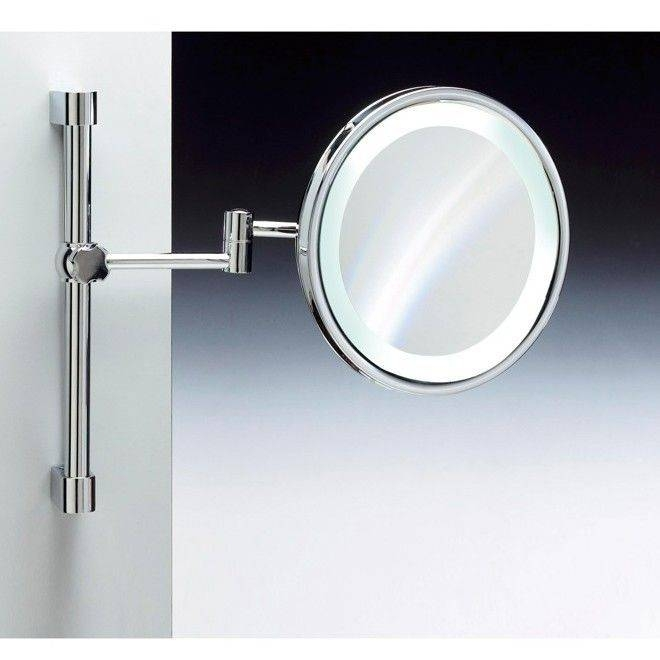Best 25+ Wall Mounted Magnifying Mirror Ideas On Pinterest Throughout Magnified Wall Mirrors (View 2 of 15)