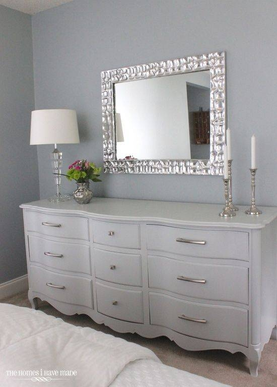 Best 25+ White Dresser With Mirror Ideas On Pinterest | Bedroom Inside Gray Wall Mirrors (#9 of 15)