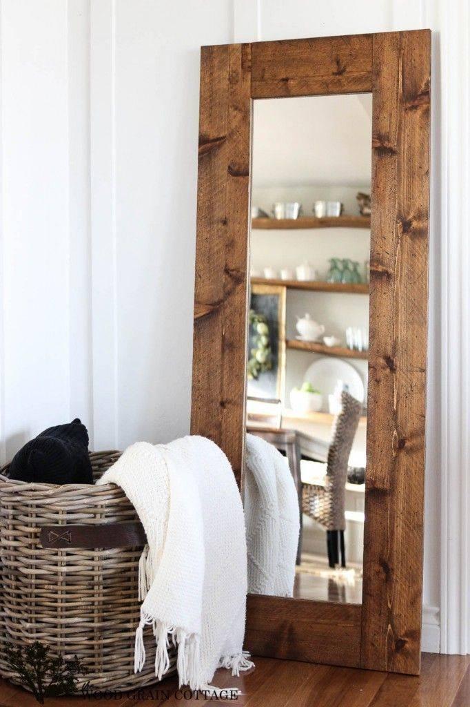 Best 25+ Wood Mirror Ideas On Pinterest | Wood Framed Mirror Inside Decorative Wooden Mirrors (#6 of 15)