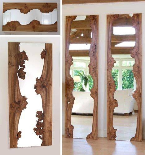 Best 25+ Wood Mirror Ideas On Pinterest | Wood Framed Mirror Inside Wooden Framed Wall Mirrors (#2 of 15)