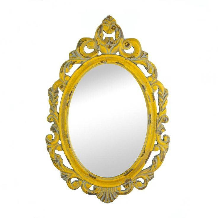 Best 25+ Yellow Wall Mirrors Ideas On Pinterest | Diy Old Leather For Yellow Wall Mirrors (#4 of 15)