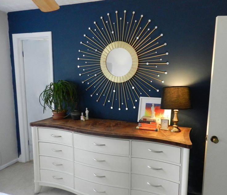 Best Diy Sunburst Mirror I've Seen! I Think This Might Be The One Regarding Diy Wall Mirrors (#8 of 15)