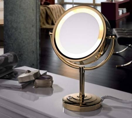 Best Lighted Make Up Mirror – A Very Cozy Home Pertaining To Lit Makeup Mirrors (#6 of 15)