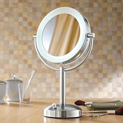 Best Lighted Makeup Mirrors In 2017 | Magnifying Vanity Mirror Regarding Magnified Vanity Mirrors (#5 of 15)