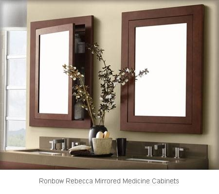 Bethroom Mirrors & Medicine Cabinets | Frank Webb Home Within Bathroom Medicine Cabinets With Mirrors (#6 of 15)