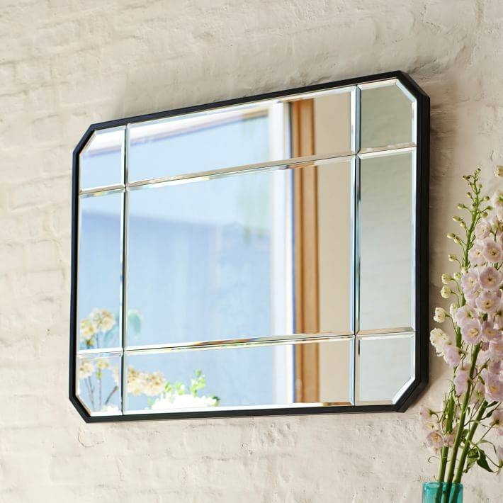 Beveled Wall Mirror | West Elm For Beveled Wall Mirrors (View 3 of 15)