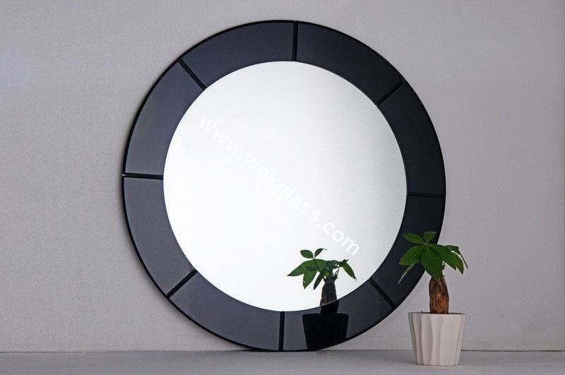 Black Decorative Mirrors With Black Decorative Wall Mirrors (#5 of 15)