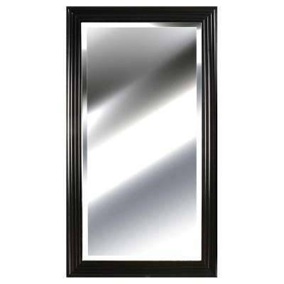 Black – Mirrors – Wall Decor – The Home Depot Within Black And Silver Wall Mirrors (View 2 of 15)