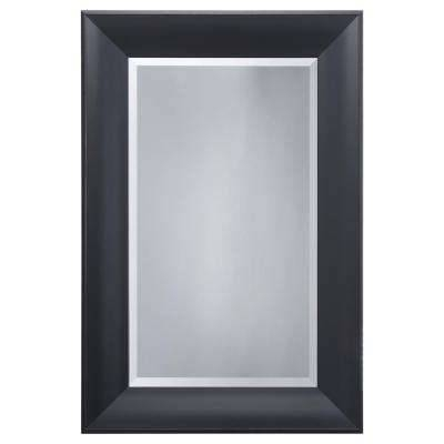 Black – Mirrors – Wall Decor – The Home Depot Within Black Framed Wall Mirrors (#7 of 15)