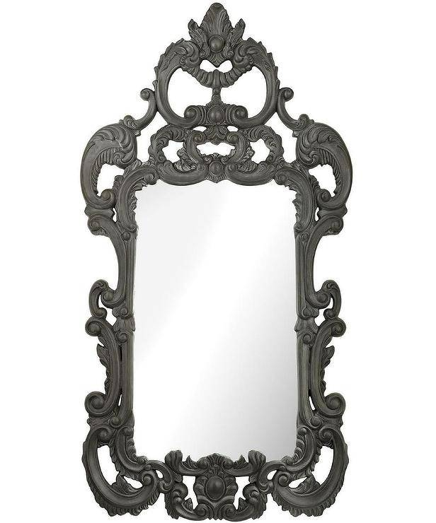 Black Wall Mirror With Black Decorative Wall Mirrors (#8 of 15)