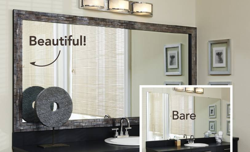 Blog | Mirrormate Frames Within Frames For Wall Mirrors (#9 of 15)