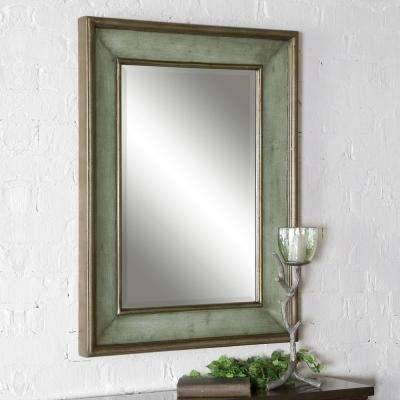 Blue – Mirrors – Wall Decor – The Home Depot Within Blue Framed Wall Mirrors (#1 of 15)
