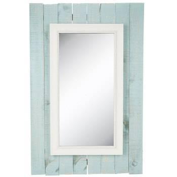 Blue Wood Pallet Framed Wall Mirror | Hobby Lobby | 1304807 Pertaining To Blue Framed Wall Mirrors (#4 of 15)