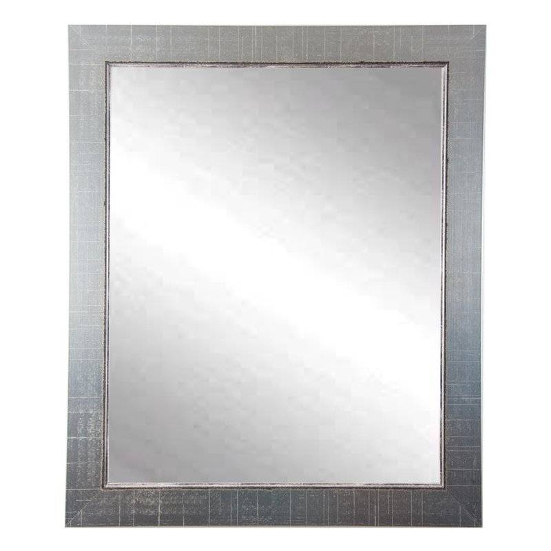 Brandtworksllc Designers Choice Antique Silver Wall Mirror Pertaining To Antique Silver Wall Mirrors (View 9 of 15)