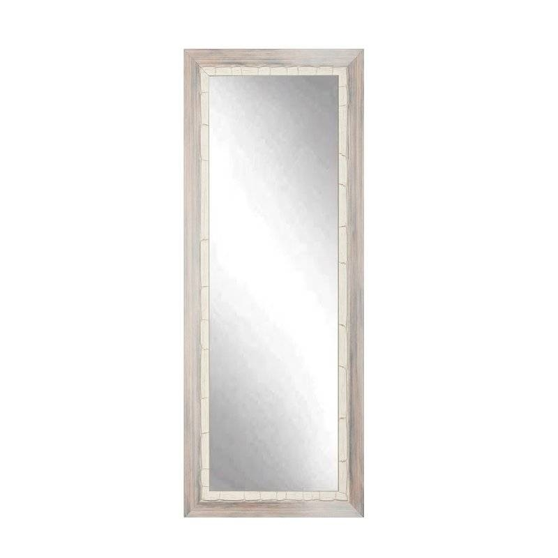 Brandtworksllc Weathered Full Length Wall Mirror & Reviews | Wayfair Intended For Full Length Wall Mirrors (#5 of 15)