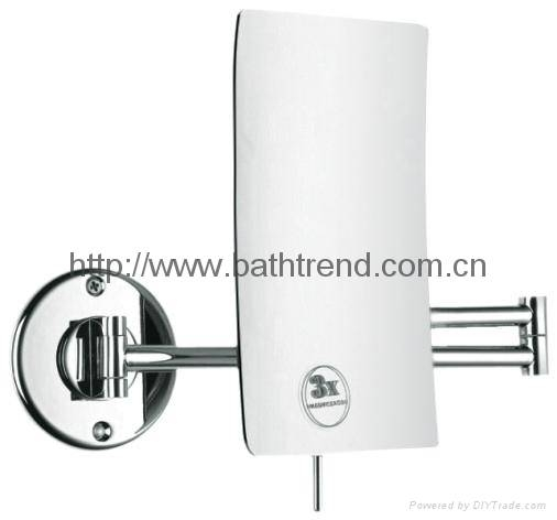 Breathtaking Extending Bathroom Mirrors Mirror Magnifying Led For Extendable Wall Mirrors (#11 of 15)
