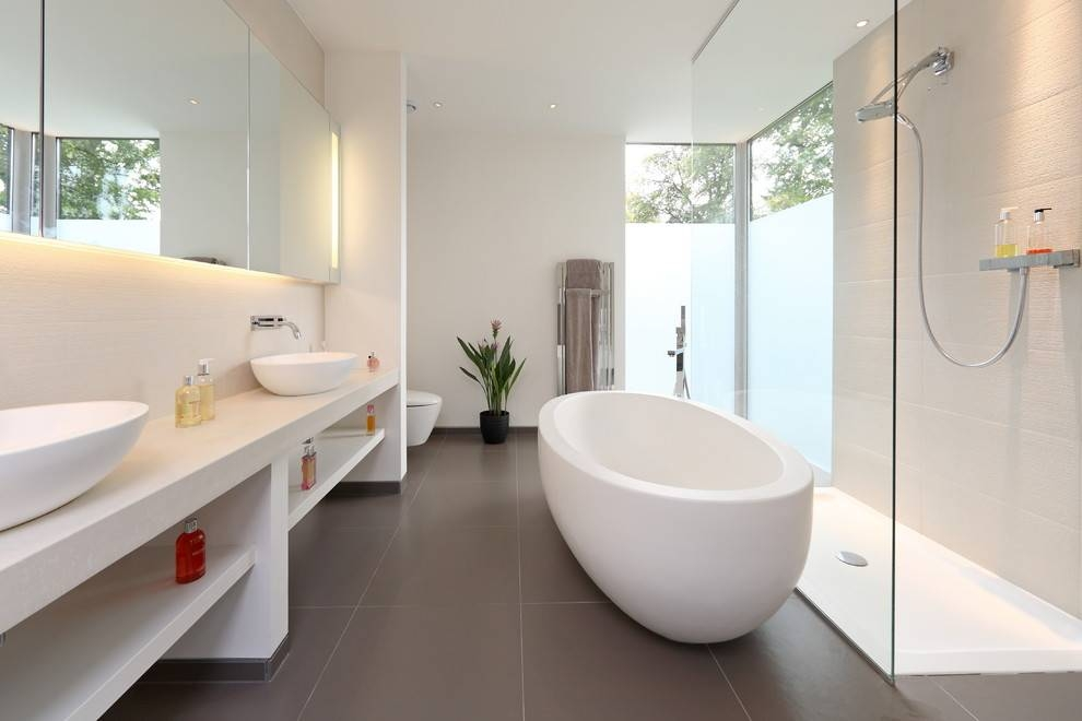 Bright Concept Lighting In Bathroom Contemporary With Bathroom Intended For Led Strip Lights For Bathroom Mirrors (#10 of 15)